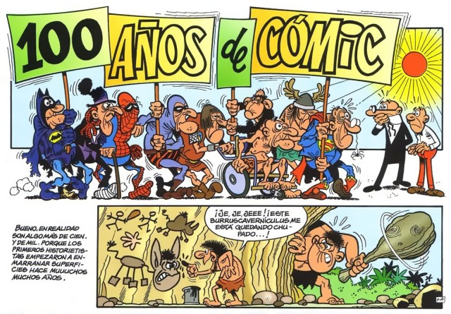 100 anyos de comic